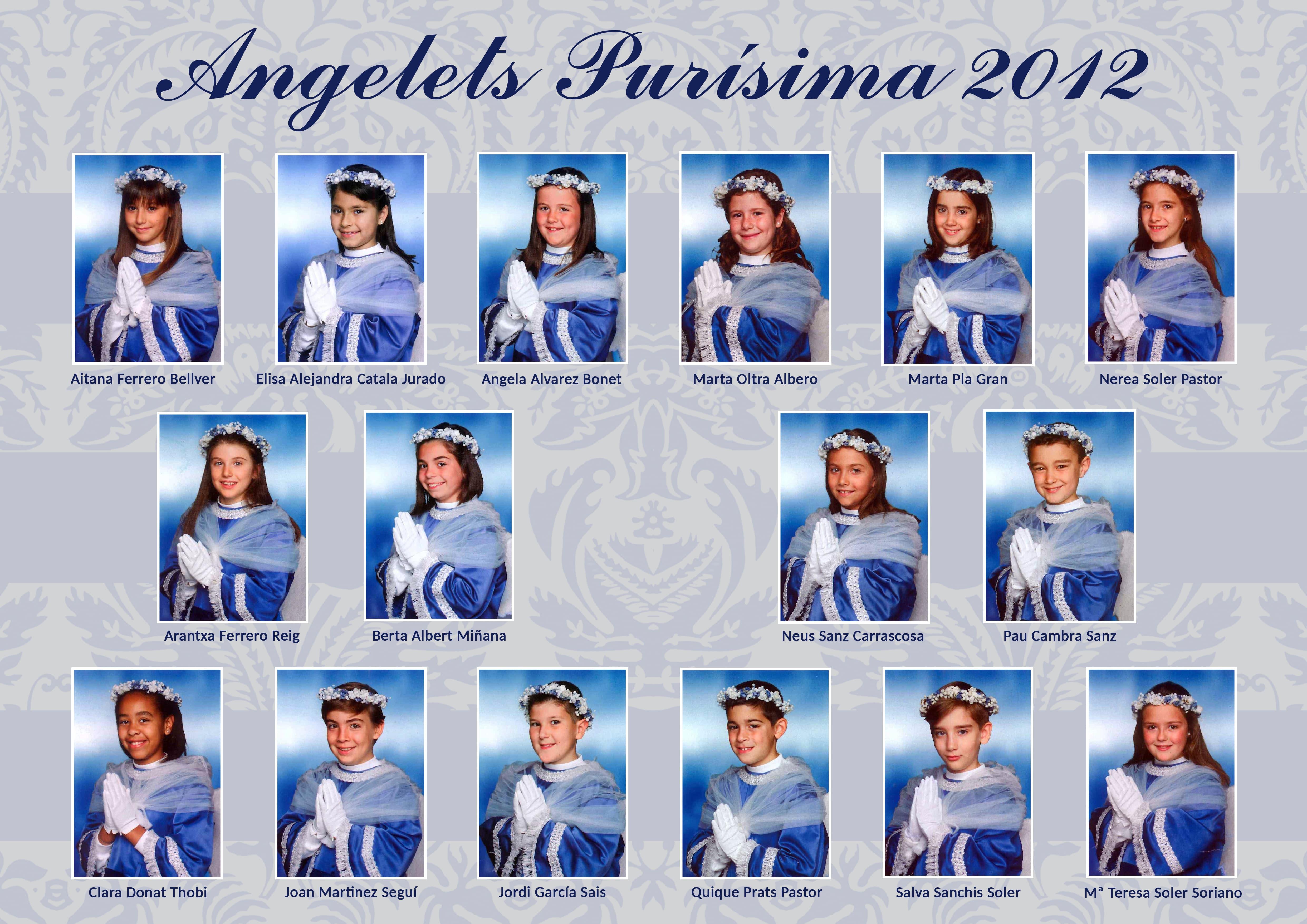 Angelets 2012