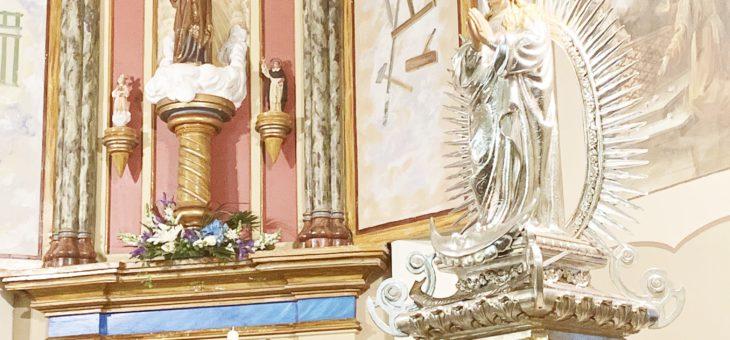 Visita de la imagen de la Purísima a la ermita de San José de El Pla
